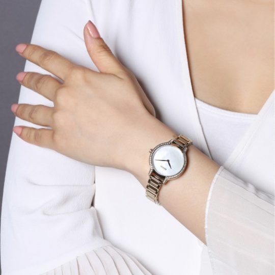 BOSS Women Gala Gold Plated Watch