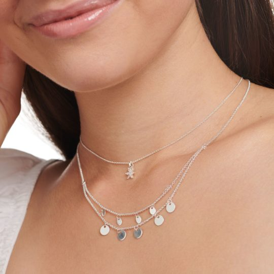 Thomas Sabo Silver Disc Necklace