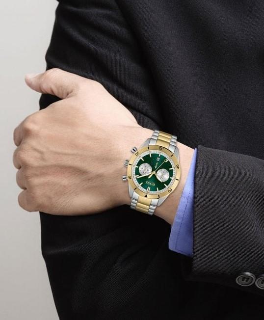 HIGO BOSS Santiago Bi Colour Watch